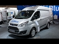 Ford Transit Custom 2017 In detail review walkaround Interior Exterior