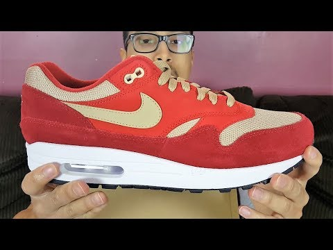 These Look Way Better In Hand! Nike Air Max 1 Premium Red Curry Review!