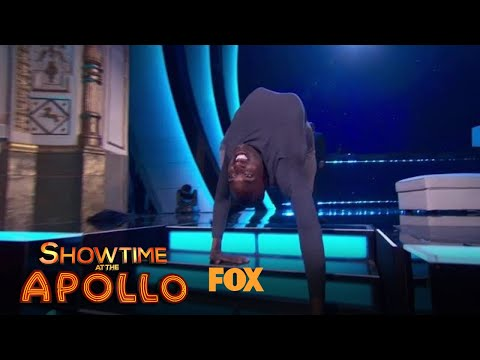VIDEO: Troy James Shows Off His Contortionist Skills | Season 1 Ep. 3 | SHOWTIME AT THE APOLLO