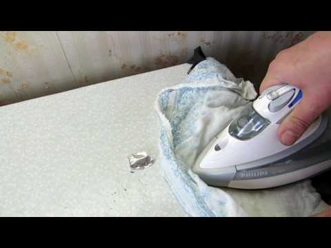 Быстро заклеить камеру велосипеда утюгом Cover the bike camera with a hot iron   YouTube