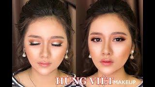 Kỹ Thuật Trang Điểm Cho Đôi Mắt Đẹp -Beautyful  Eyes Makeup  / Hùng Việt Makeup