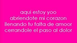 Aqui Estoy Yo- Luis Fonsi Ft. Aleks Syntek,  Noel Schajris & David Bisbal. + Lyrics
