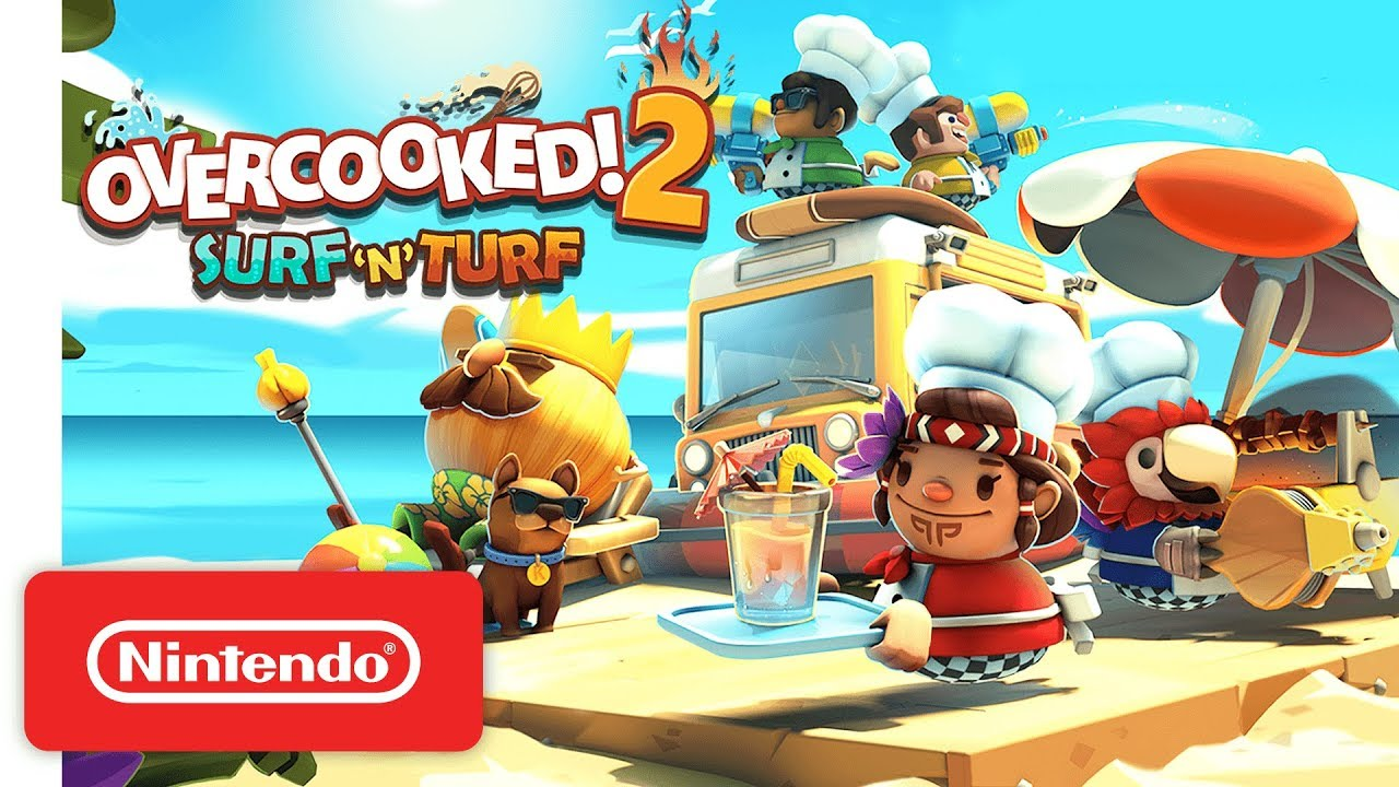 Overcooked 2 goes tropical with the new Surf 'n' Turf DLC - Polygon