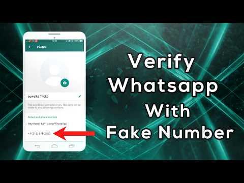 whatsapp fake number verification