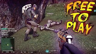 Planetside 2 - PS4 60fps Free To Play Game / 1st Time Playing