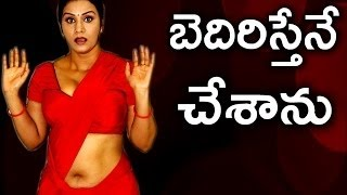 Four Men Warned to Actress Apoorva at her Home   !