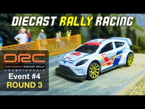 Diecast Rally Championship #4 - Round 3 | DRC Car Racing Series