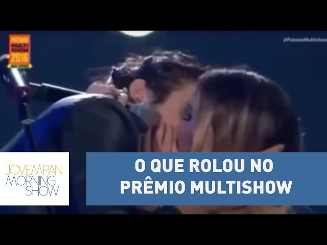 Beijo de Iorc e Werneck, Ludmilla deprê e Céu brilhando; o que rolou no Prêmio Multishow