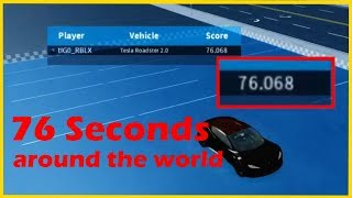 76 SECONDS IN AROUND THE WORLD | (Roblox Vehicle Simulator)