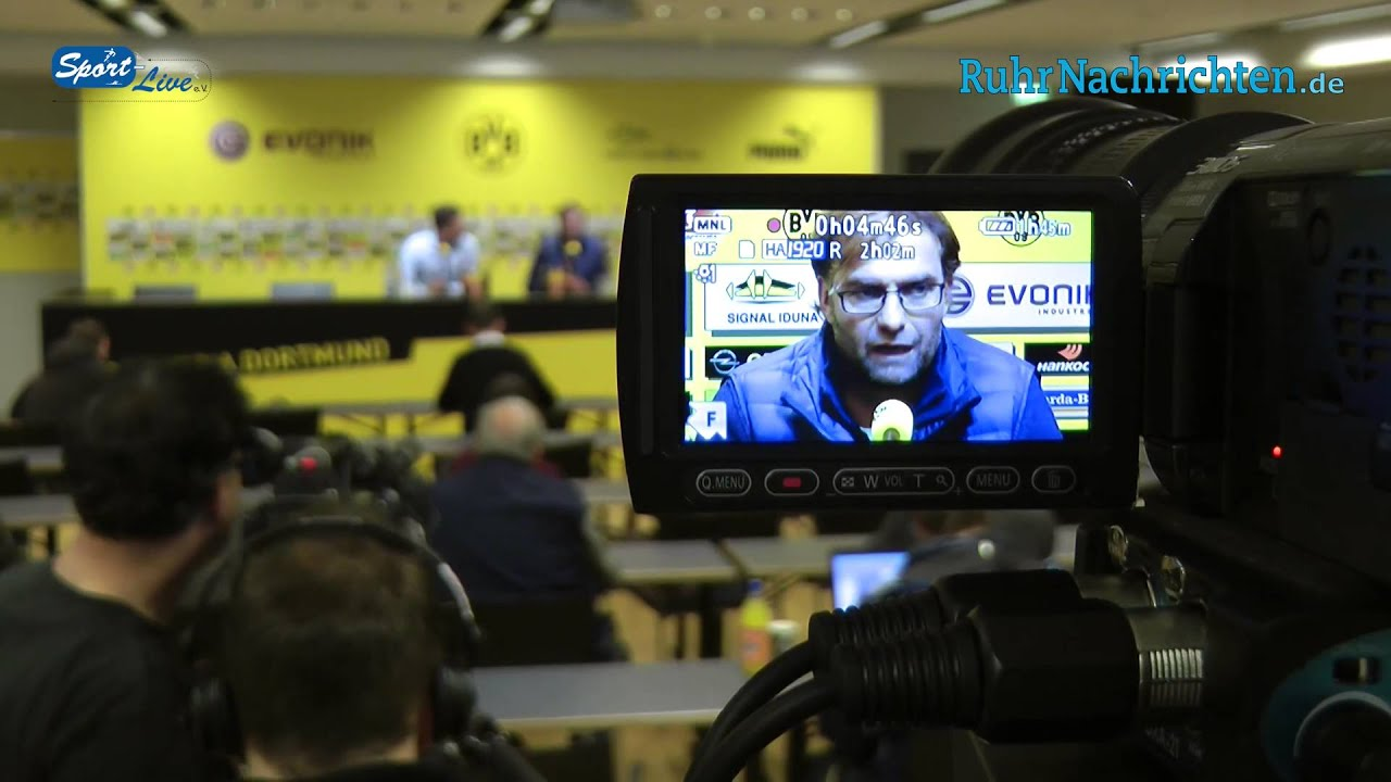Die BVB Pressekonferenz vor dem Spiel SC Freiburg gegen Borussia Dortmund vom 25.10.2012