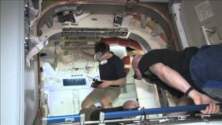 Dragon Hatch Opened to ISS