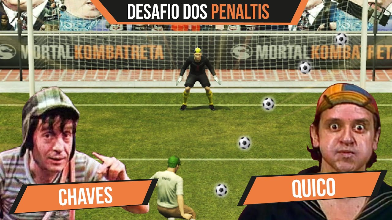 Chaves vs Quico - Desafio dos pênaltis!