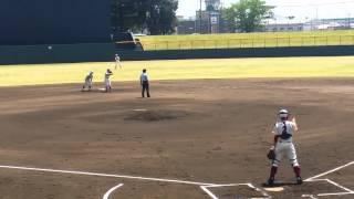 2015年5/2 高校野球春季兵庫大会 関西学院vs篠山鳳鳴戦.