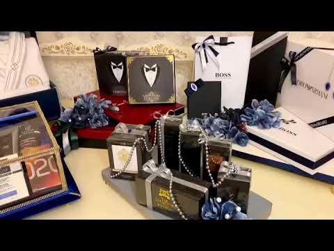ZÖVQLÜ VƏ QEYRİ-ADİ DİZAYNLI BƏY XONÇASI NECƏ HAZIRLANIR? /Damat Bohçası Yapımı/Groom gift designing