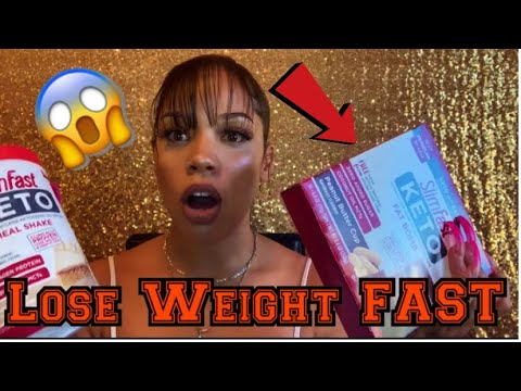 HOW TO LOSE WEIGHT FAST W/OUT WORKING OUT! (( SLIM FAST KETO ))