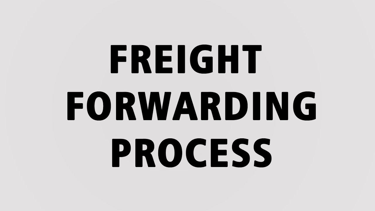 Freight Forwarding Process Training 3 Youtube Flow Diagram