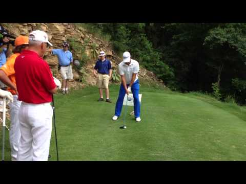 Gary Woodland at the Patriot Cup 2012