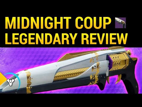 Destiny 2: Midnight Coup - Raid Hand Cannon Review