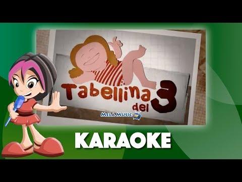 La canzoncina di Isabella_tabellina del 3 - Versione karaoke