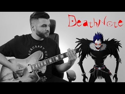 DEATH NOTE MEDLEY - Maximum The Hormone Opening & Ending (Instrumental)- Andrew Baena