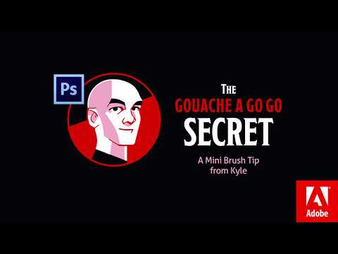 Photoshop Mini Tip: Gouache A Go Go Brush Trick