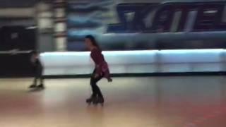 Aurelia Scheppers roller skating 1