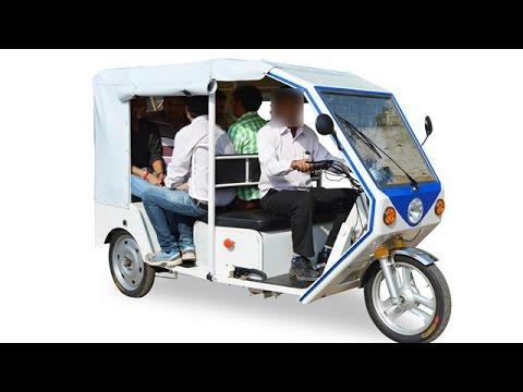 Terra Motors Electric Auto Rickshaw R6 Is For India