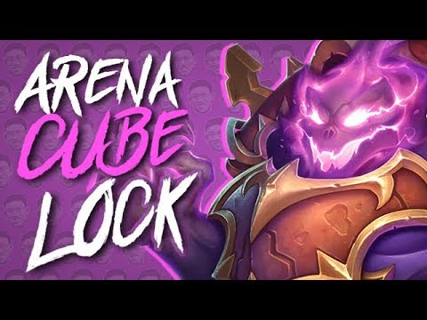 WE DRAFTED CUBELOCK IN ARENA!! - Warlock Arena - Taverns of Time