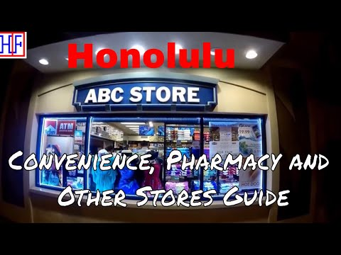 Honolulu | Convenience & Other Stores Info | Travel Guide | Episode# 5
