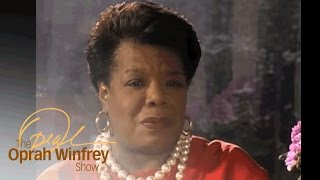 """I Know Why the Caged Bird Sings"" - Conversations with Oprah: Maya Angelou, 1993 - OWN"