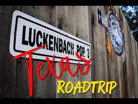 Luckenbach, Texas Roadtrip - Vlog