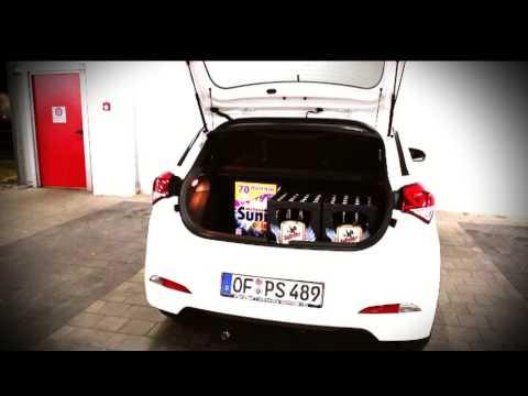 0 - Hyundai i20 im Test – Kofferraum Check