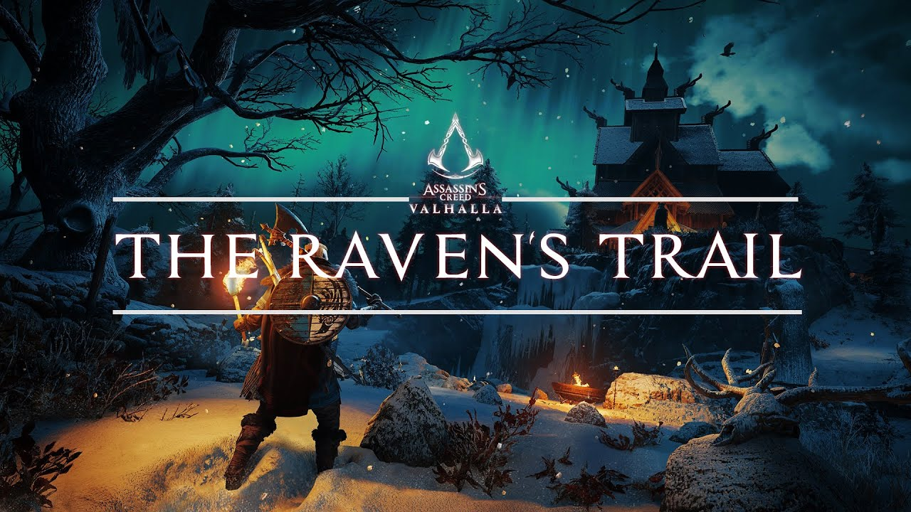 Assassin's Creed Valhalla - THE RAVEN'S TRAIL   SOUNDTRACK MIX   (Atmospheric Exploration Ambient)