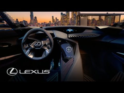Lexus UX Concept Car - 3D Interface Technology