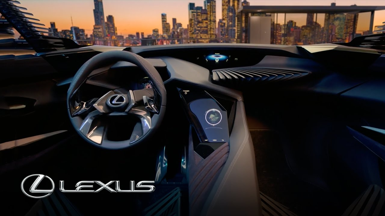 lexus ux concept car 3d interface technology youtube. Black Bedroom Furniture Sets. Home Design Ideas