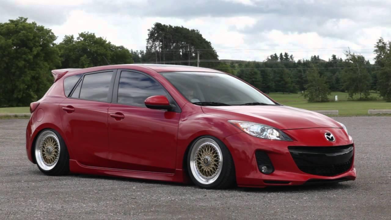 Bagged 2012 Mazda 3 Youtube