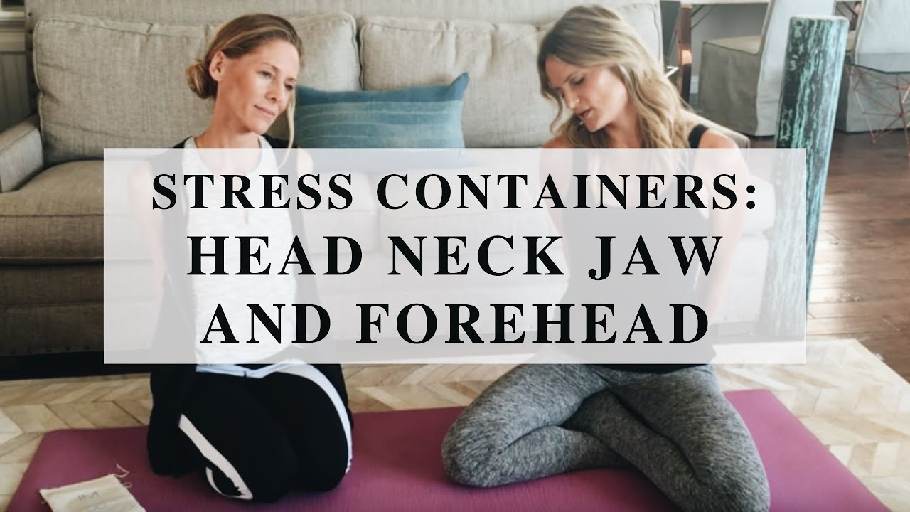 Stress Containers #1 Head, Neck, Jaw & Forehead
