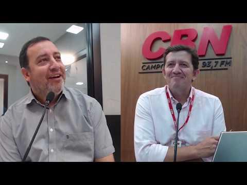 CBN Integração: Odilon Ribeiro, prefeito de Aquidauana (05/12/2019)