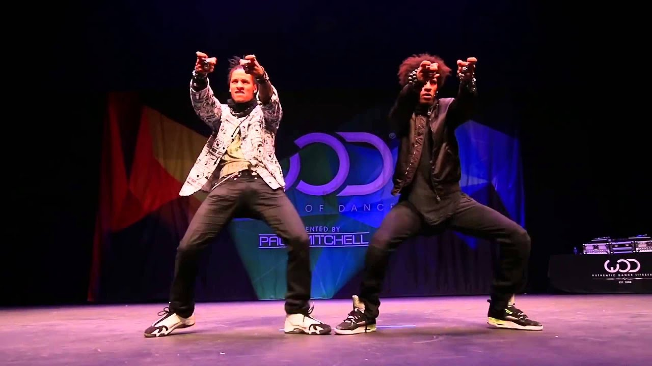 Les Twins   FRONTROW   World of Dance 2014 #WODHI