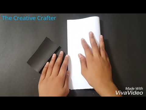 Haxagonal / Pencil Holder-DIY (Hand made)Tutorial by The Creative Crafter