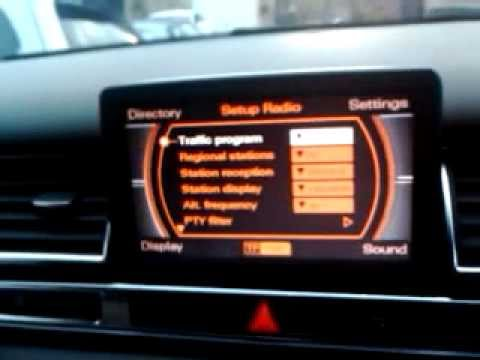 audi a8 d3 2003 faulty mmi display pre software. Black Bedroom Furniture Sets. Home Design Ideas