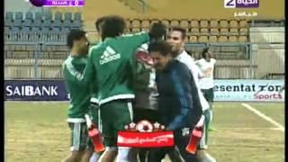 بالفيديو..'رؤوف' يقود المصري البورسعيدي لفوزٍ قاتل على غزل المحلة بهدف نظيف