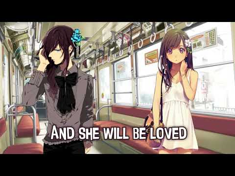Nightcore - She Will Be Loved (Switching Vocals) - (Lyrics)