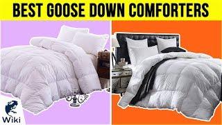10 Best Goose Down Comforters 2018