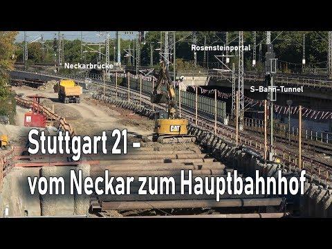 Stuttgart 21: Vom Neckar zum Hauptbahnhof | 17.10.18 | #S21 #stuttgart21