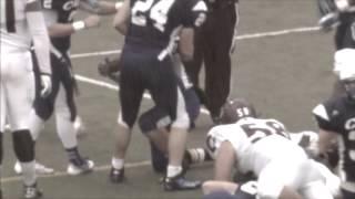 Spartan Football: Case Western Reserve University vs. University of Chicago Highlights