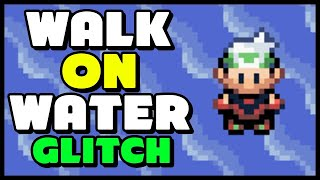 The WALK ON WATER & SURF ON LAND Glitches in Pokemon Ruby, Sapphire & Emerald
