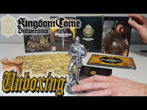 UNBOXING KINGDOM COME DELIVERANCE COLLECTOR EDITION