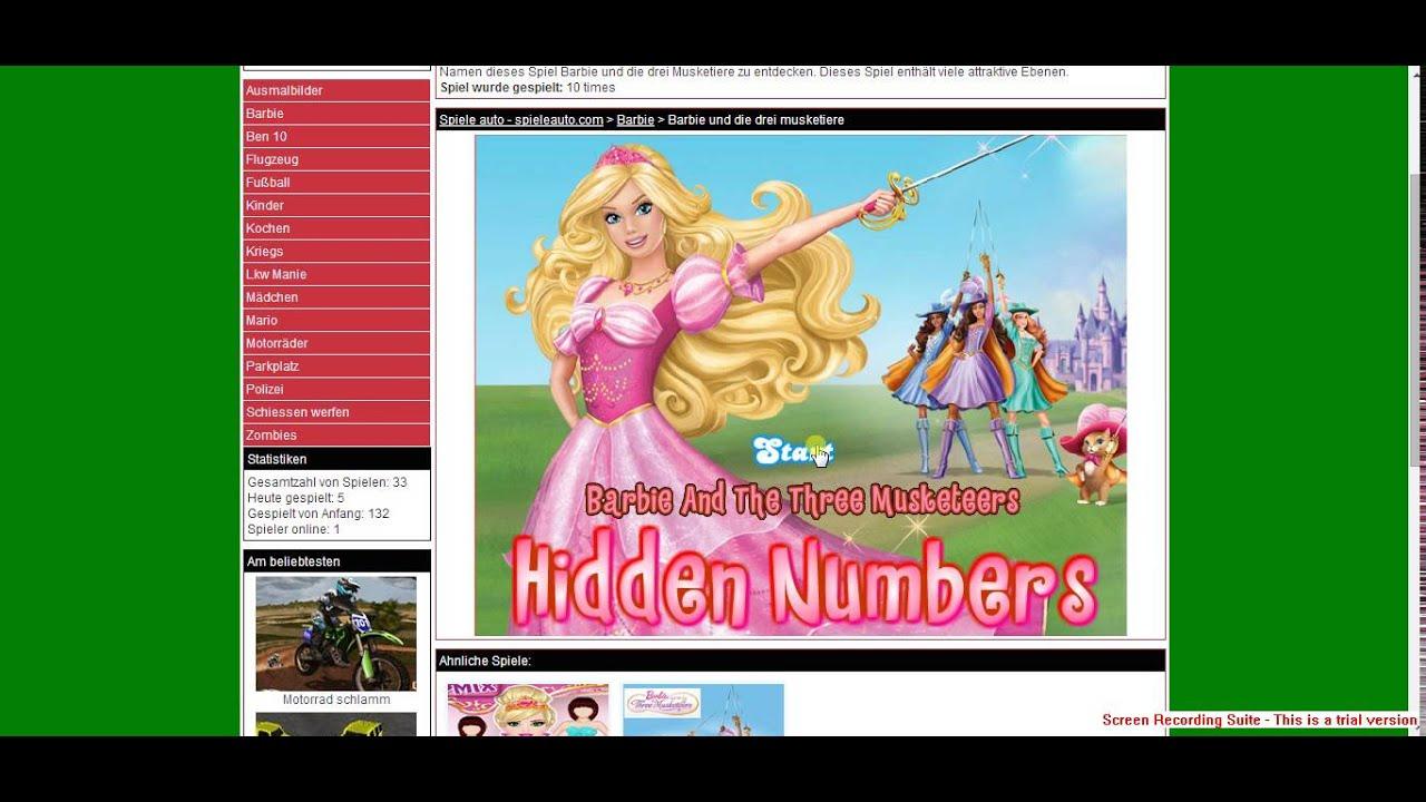 Barbie Und Die Drei Musketiere Spiele Youtube