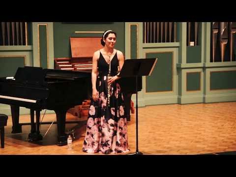 Christina Vail Senior Recital 2018-04-22 Pittsburg State University By RLV Productions Videography